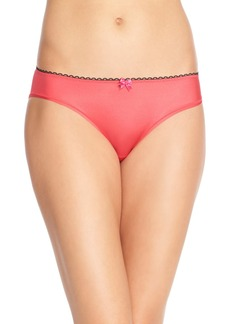 Betsey Johnson Cutout Cheeky Bikini
