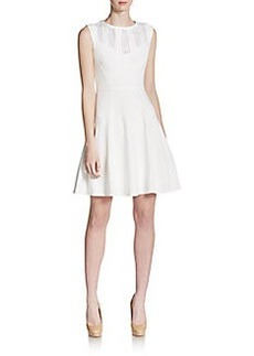 Betsey Johnson Cutout-Detailed Fit-and-Flare Dress