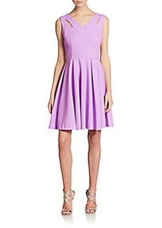 Betsey Johnson Cutout Fit-And-Flare Dress