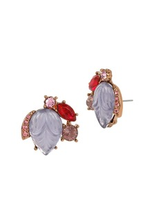 BETSEY JOHNSON Fall Follies Stone Cluster Earrings