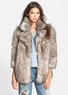 Betsey Johnson Faux Fur Topper (Online Only)
