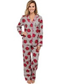 Betsey Johnson Flannel PJ