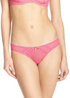 Betsey Johnson 'Flirt' Mesh Thong