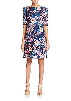 Betsey Johnson Floral A-Line Dress