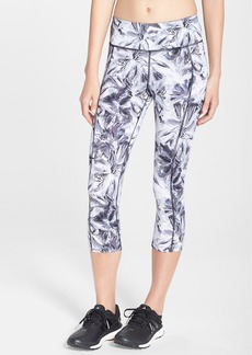 Betsey Johnson Floral Print Crop Leggings