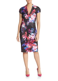 Betsey Johnson Floral Print Dress