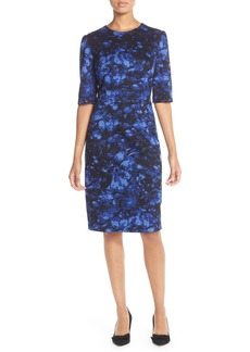 Betsey Johnson Floral Print Sheath Dress