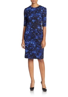 Betsey Johnson Floral Sheath Dress
