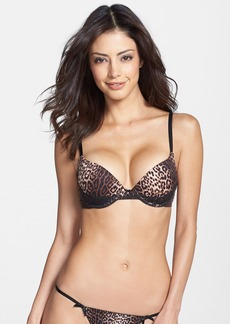Betsey Johnson 'Forever Perfect' Lace Trim Push-Up Bra