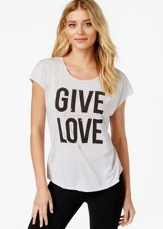 Betsey Johnson Give Love Graphic Top