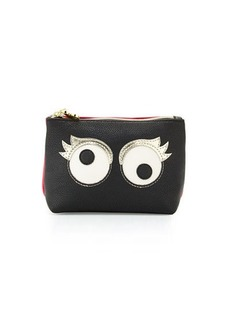 Betsey Johnson Googly Moogly Cosmetic Bag