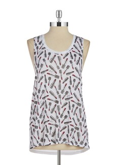 BETSEY JOHNSON Hi-Lo Performance Tank