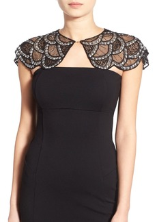 Betsey Johnson 'Honeymoon' Beaded Capelet