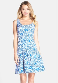Betsey Johnson Jacquard Fit & Flare Dress