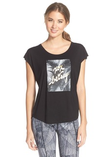 Betsey Johnson 'Jungle XOX' Performance Tee