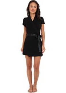 Betsey Johnson Lace Back Rayon Knit Robe 734753