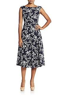 Betsey Johnson Lace Embroided Midi Dress