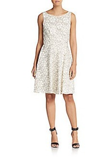 Betsey Johnson Lace Fit-&-Flare Dress