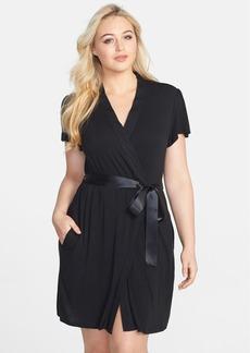 Betsey Johnson Lace Heart Robe (Plus Size)
