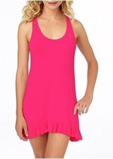 Betsey Johnson Lace Knit Chemise Plus Size