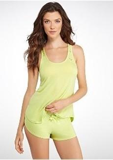 Betsey Johnson Lace Knit Pajama Set