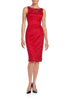 BETSEY JOHNSON Lace Sheath Dress