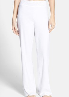 Betsey Johnson Lace Trim Terry Pants