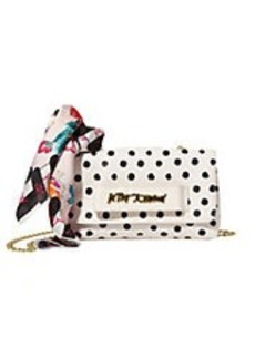 BETSEY JOHNSON Ladies Who Lunch Crossbody Bag