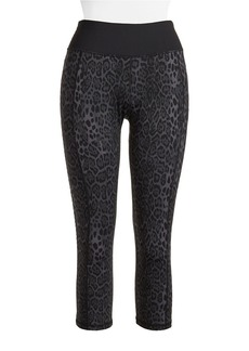 BETSEY JOHNSON Leopard Print Leggings