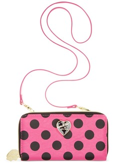 Betsey Johnson Luv Betsey Wallet On A String