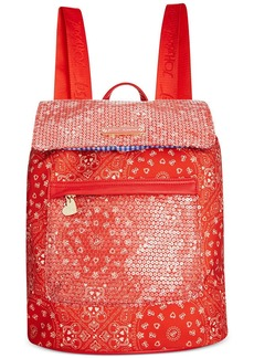 Betsey Johnson Macy's Exclusive American Backpack