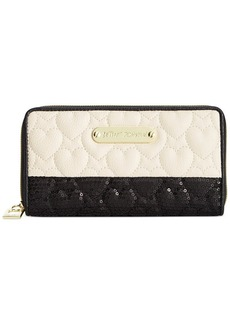 Betsey Johnson Macy's Exclusive Zip Around Wallet