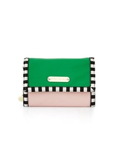 Betsey Johnson Mad About Mod Colorblock Wallet-On-Chain