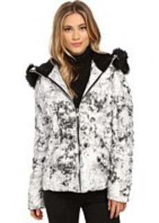 """Betsey Johnson """"Marble"""" Printed Puffer"""