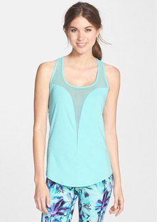 Betsey Johnson Mesh Slice Tank