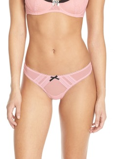 Betsey Johnson Mesh Thong (3 for $30)