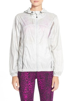 Betsey Johnson Mesh Water Resistant Jacket