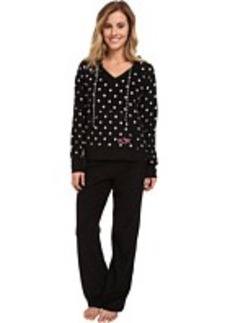 Betsey Johnson Microfleece PJ