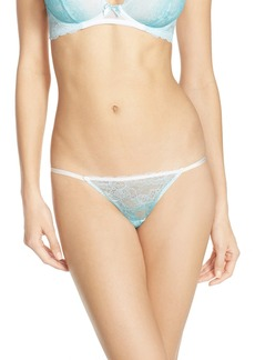 Betsey Johnson Ombré Lace Thong