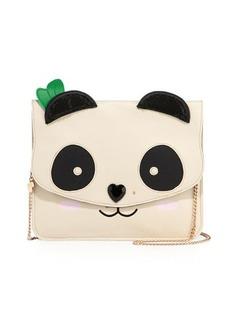 Betsey Johnson Panda Faux-Leather Clutch Bag