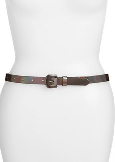 Betsey Johnson Patent Belt