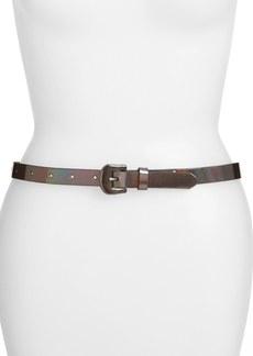 Betsey Johnson Patent Belt