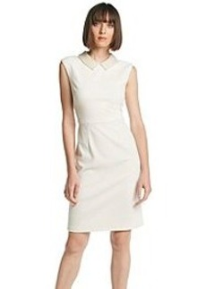 Betsey Johnson® Pearl Collar Sheath Dress
