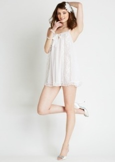 Betsey Johnson Pearl Double Layer Tricot Slip