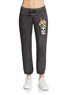 Betsey Johnson Performance Carmen Mira Graphic Sweatpants