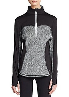 Betsey Johnson Performance Half-Zip Performance Pullover