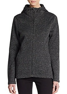 Betsey Johnson Performance Hooded Fleece Jacket