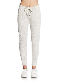 Betsey Johnson Performance Paneled Track Pants