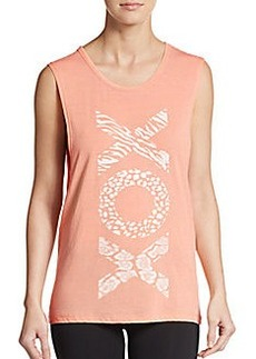 Betsey Johnson Performance XO Muscle Tank