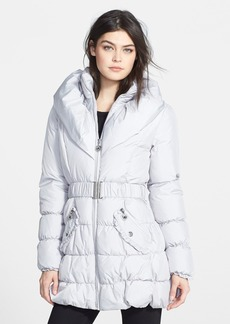 Betsey Johnson Pillow Collar Quilted Coat (Online Only)